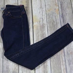 True Religion Stella Skinny Leg Jeans Dark Wash